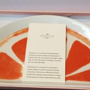 Rosanna Dining - Semi circle grapefruit tray